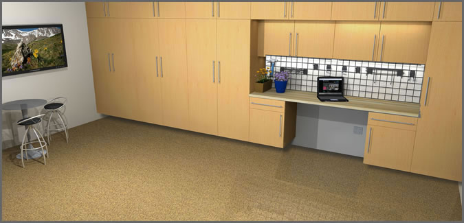 Premiergarage Design Your Own Garage Floor Cabinets
