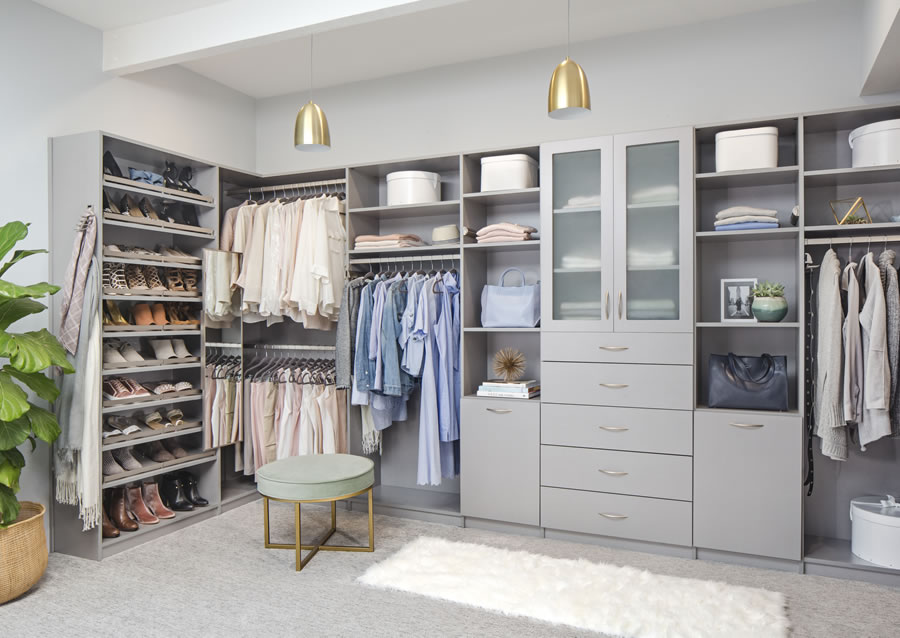 Closet organizers closet organization closet storage - Storage solutions for small closets ...
