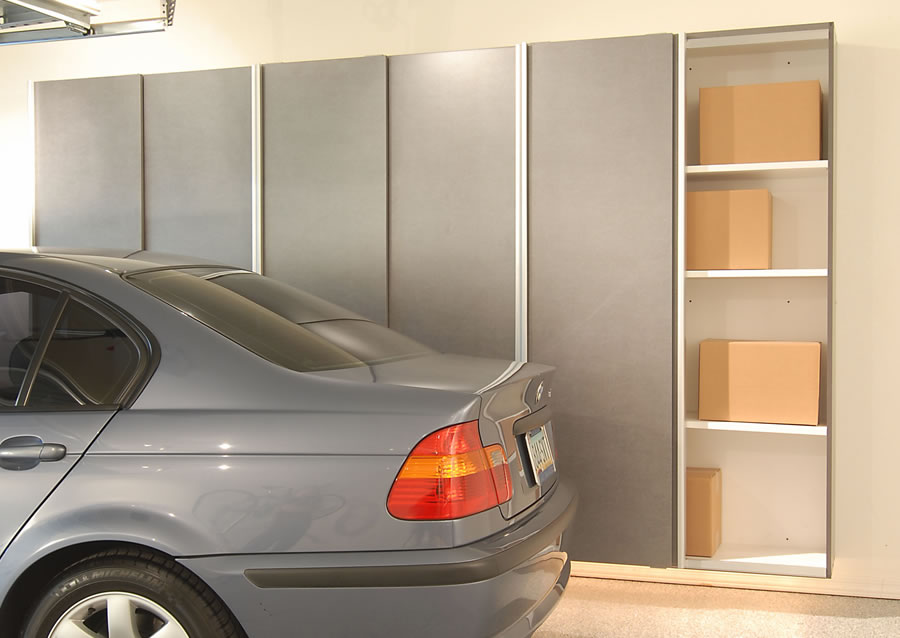 Gentil You Can Mix And Match The New Sliding Doors With Our Traditional Garage  Cabinets For The Perfect Arrangement To Meet Your Needs.