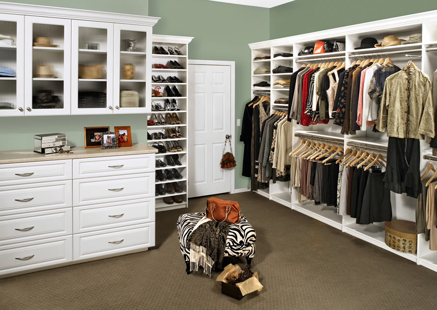 MAKE LIFE EASIER WITH CLOSET ORGANIZERS FROM PREMIERGARAGE® POWERED BY  TAILORED LIVING®