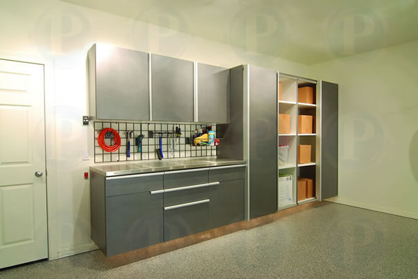Garage cabinets storage solutions gallery san jose for Premier garage cabinets