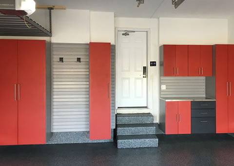 Powder Coated Garage Cabinets Storage Systems And Organizers