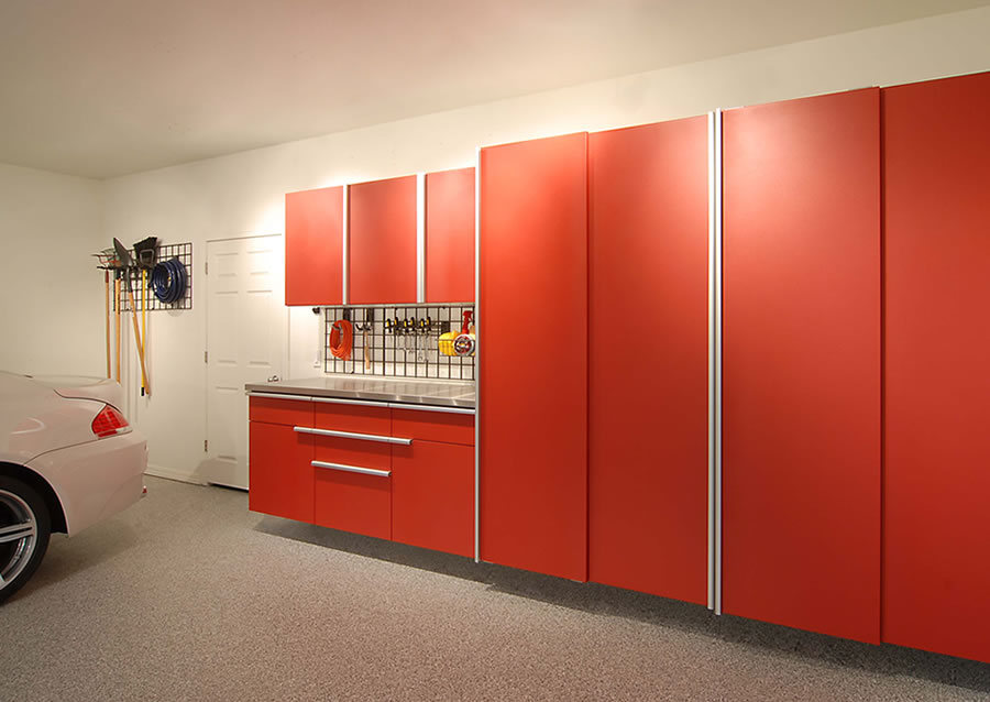 Garage Cabinets, Garage Storage Solutions, Workbench Organization