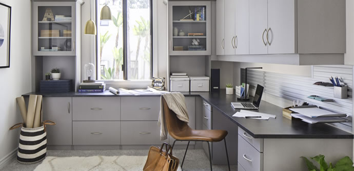 Practical Home Office Solutions. PremierGarage Powered By Tailored Living  Understands The Key To Your Success Lies In The Organization Of Your  Workspace
