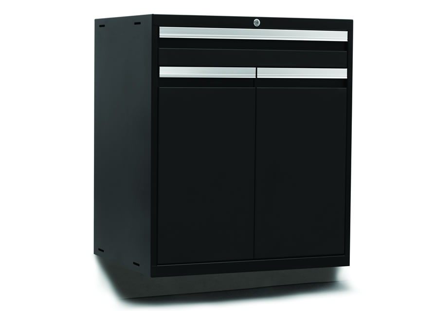 Metal garage cabinets toolbox garage storage for Premier garage cabinets