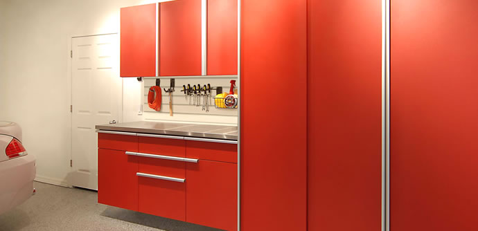 Marvelous Tech Red Powder Coated